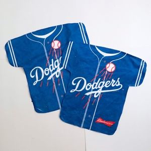 Dodgers Budweiser  Jersey shaped cheering towels